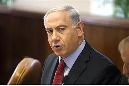 El primer ministro Netanyahu habla en reunión de gabinete