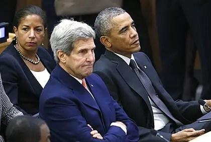 Barack Obama, John Kerry, Susan Rice