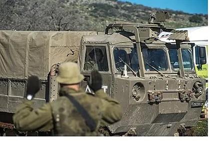Las FDI visto reforzar la presencia en los Altos del Golán