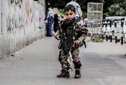 Hamas child soldier