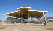 Рядом построен небольшой завод по переработке овечьего молока