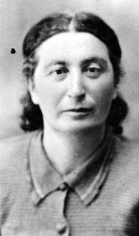 1948 год, г.Гайсин Винницкой области. Хана Ароновна Аршинова (Клубанова)