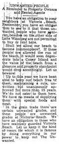 svast191Editorial from the Victoria Beach Herald reproduced in The Winnipeg Free Press, 17 August 1943