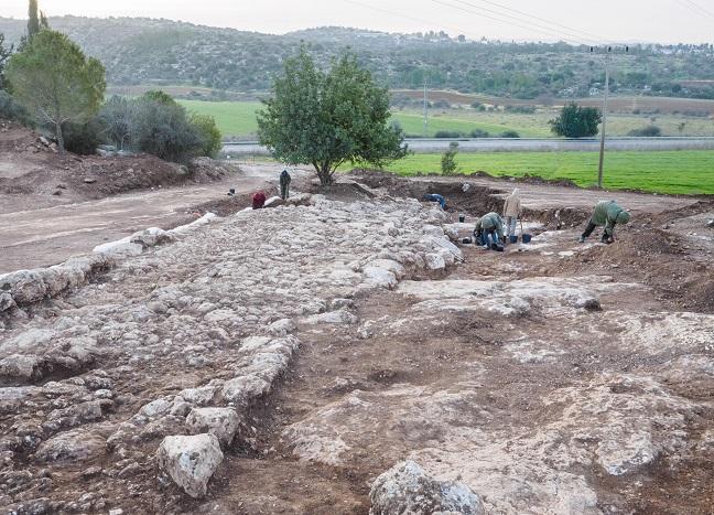 Фото Асафа Переца: Раскопки римской дороги