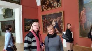 В музее Академии художеств