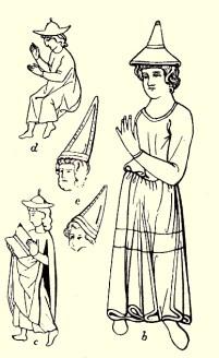 Одежда еврейских женщин Средневековья