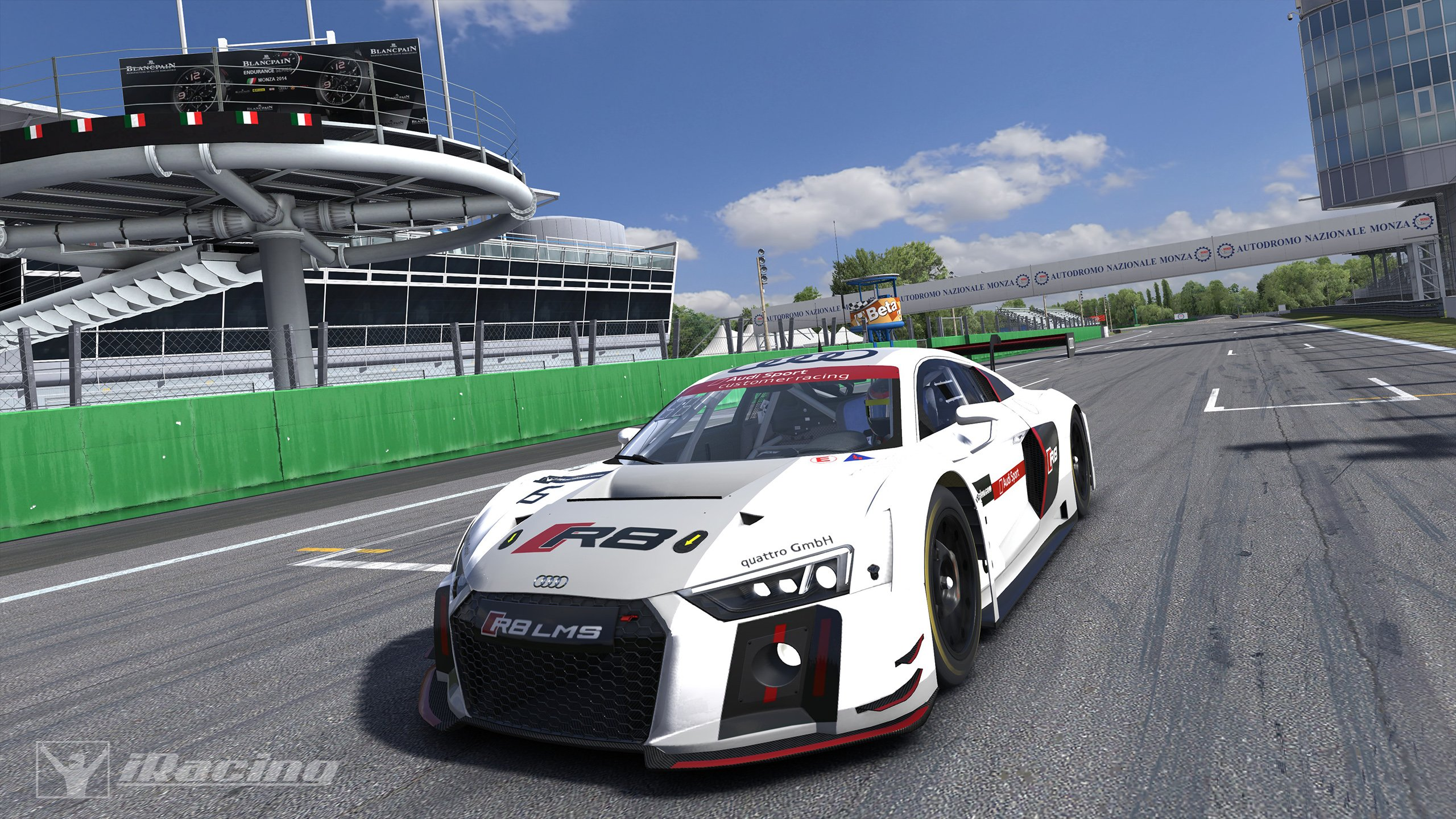 IRacing Audi R8 LMS GT3 First Look Inside Sim Racing
