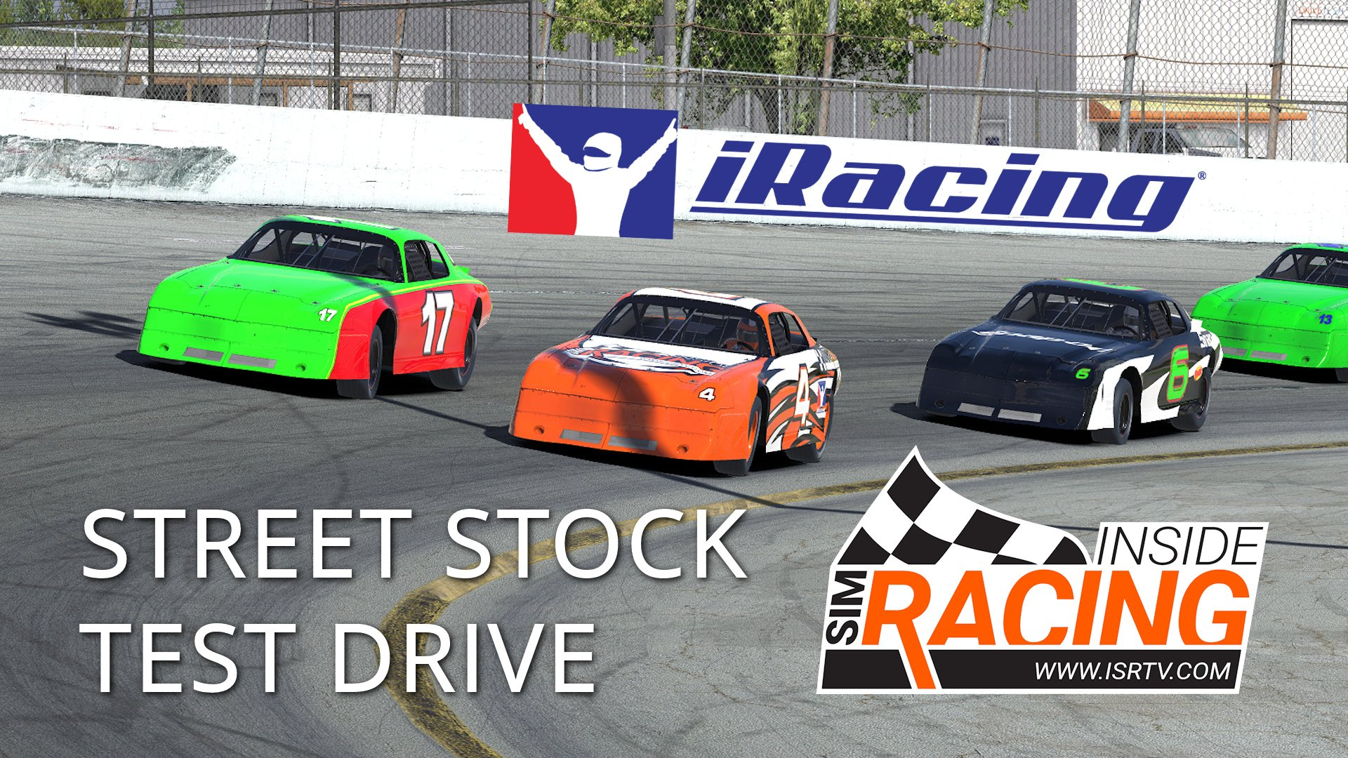 IRacing Week 13 Street Stock Test Drive At USA Speedway