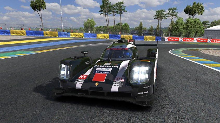 iRacing: Porsche 919 LMP1 hotlap @ Le Mans