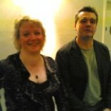 Issie Barratt and Mark Lockheart