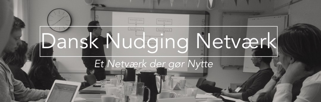 The Danish Nudging Network – new changes and new website