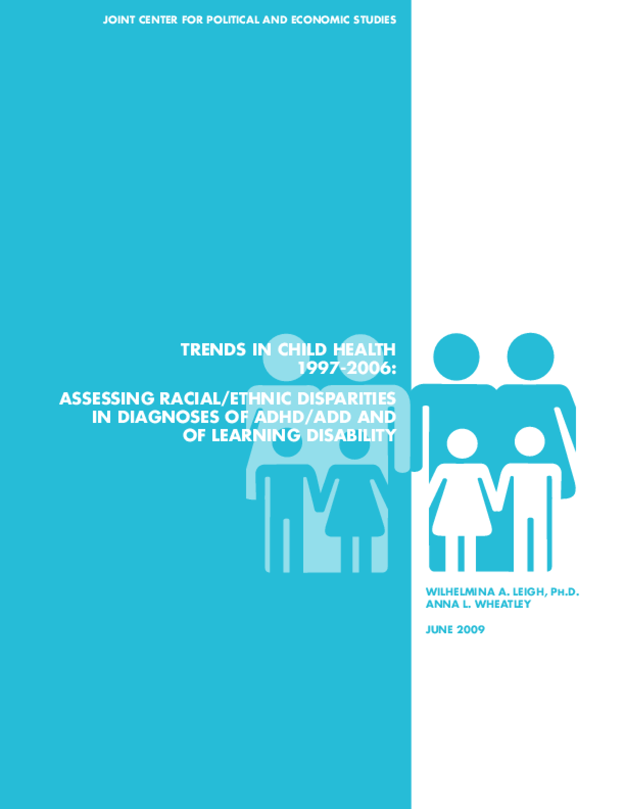 Trends In Child Health Assessing Racial Ethnic Disparities In Diagnoses Of Adhd Add