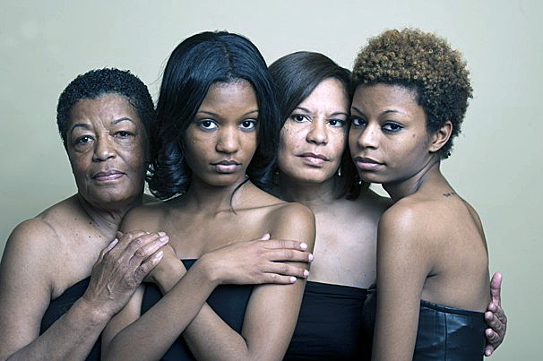 Three Generations Of Black Women