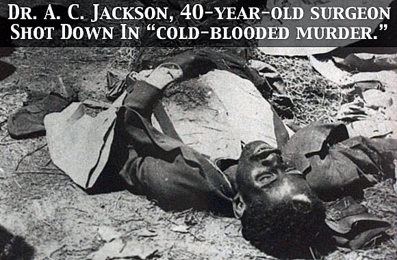 The Death Of Dr. A. C. Jackson