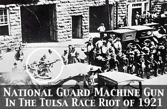 National Guard Machine Gun Truck