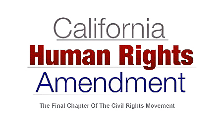 California Human Rights Amendment Logo