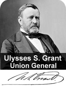 Ulysses S. Grant, Union General.