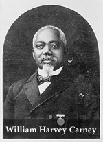 William H. Carney Wearing Medal Of Honor