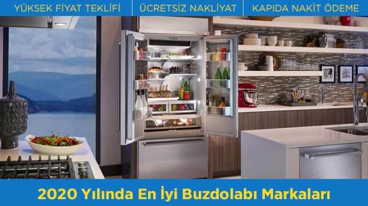 2020 yılında en iyi buzdolabı markaları sıralaması geçen yıla oranla pek de değişmedi. Değiştirmek istediğiniz buzdolabınızı satmadan önce, yeni alacağınız buzdolabı modelleriyle ilgili bilgi sahibi olun.