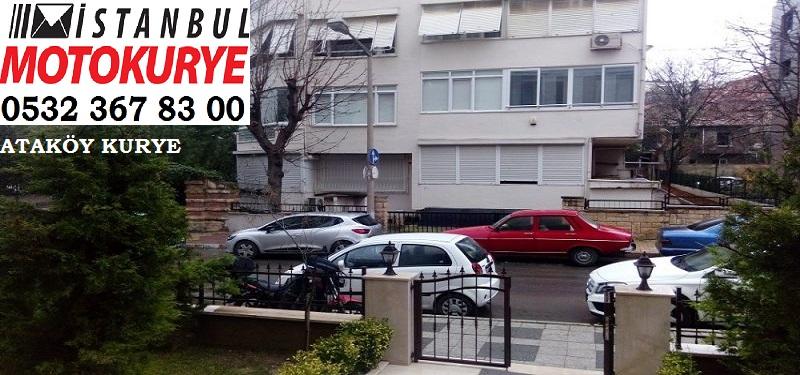 Ataköy Kurye, İstanbulmotokurye.com