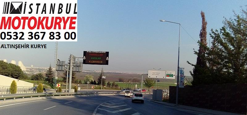 Altınşehir Kurye, İstanbulmotokurye.com