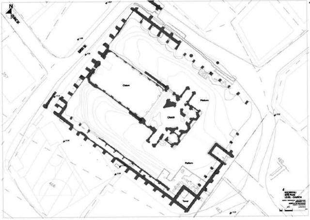 Satyros Kloster Plan