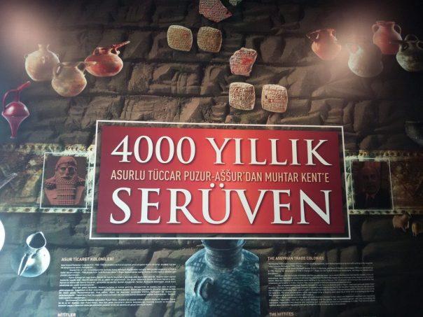 Ausstellung 4000 jähriges Brief