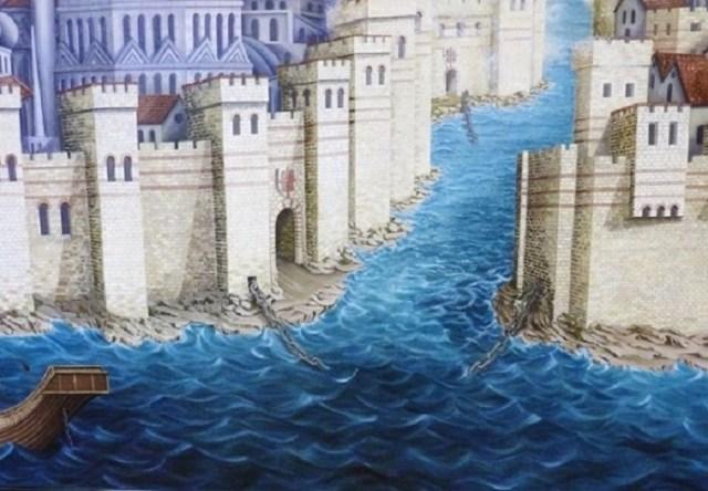 Sperrkette der Byzantiner
