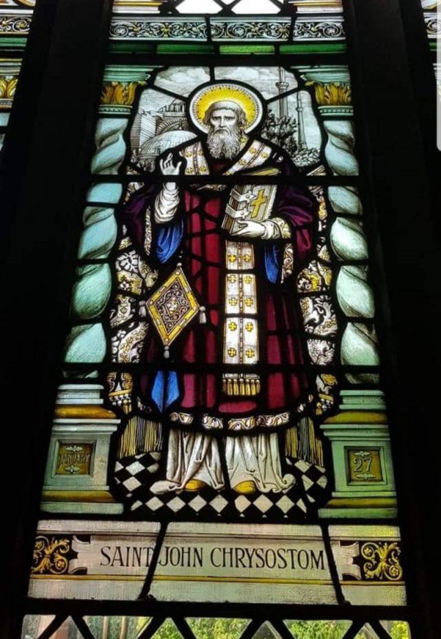 Chrysostomus und Hagia Sophia