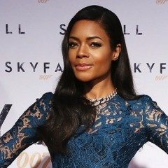 Beautiful Bond girl Naomie Harris attends Skyfall's Istanbul premiere
