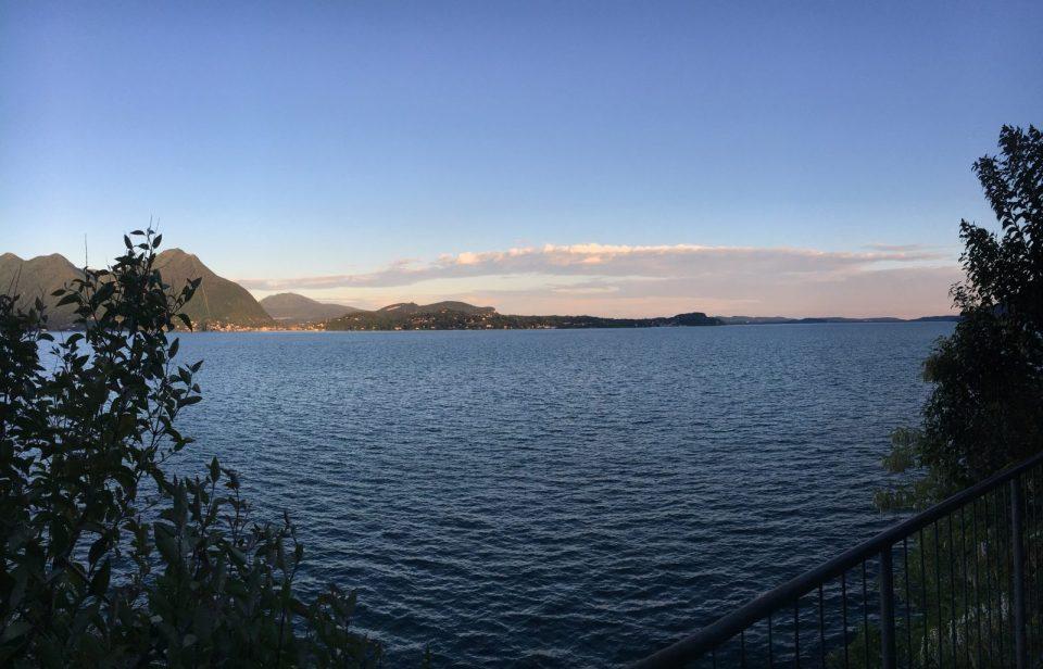 Vista ciclabile Verbania - Verbania - sport a verbania - Lago maggiore - Istanti in viaggio