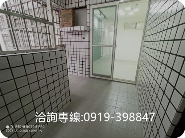 北屯-松竹商圈美華廈(4房+平面車位) 全新裝潢 入門陽台玄關