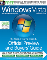 Official Windows Vista magazine cover