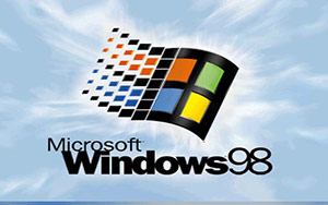 Windows 98 bootscreen