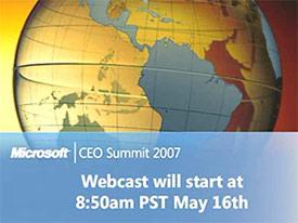 Microsoft CEO Summit 2007