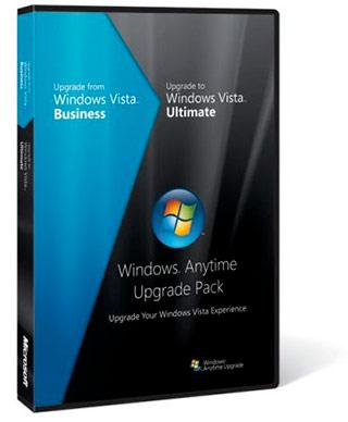 Windows Vista Anytime Upgrade Pack