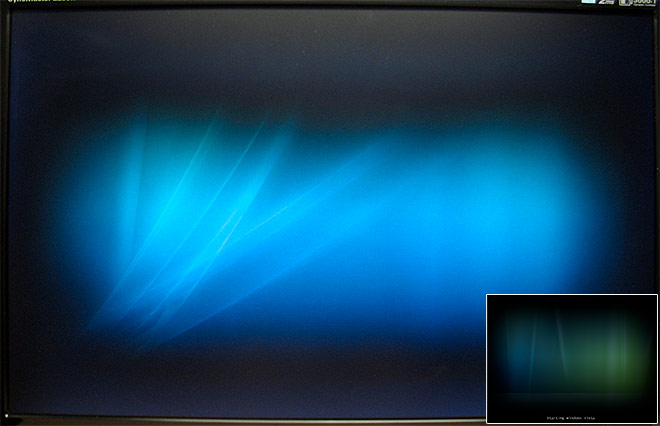Windows Vista boot screen SP1