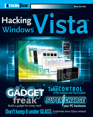 Hacking Windows Vista by Steve Sinchak