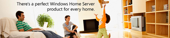 Windows Home Server website