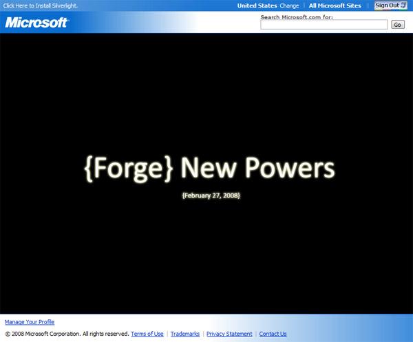 Microsoft Open Source Hero - Forge New Powers February 27
