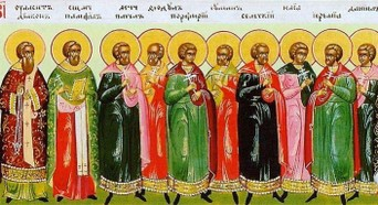 sveti Jeremija, Elija, Izaija, Samuel, Daniel in tovariši - mučenci