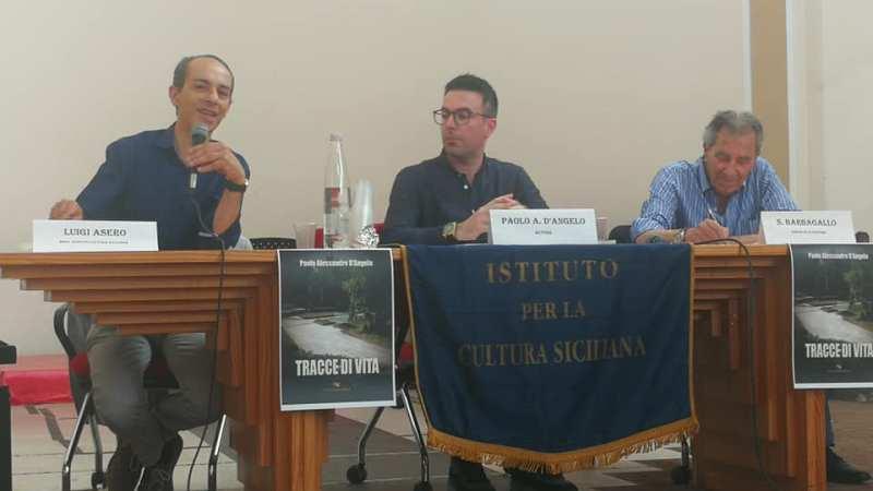 Presentato il nuovo libro di Paolo A. D'Angelo: Tracce di vita. Il segno di un passaggio che resta