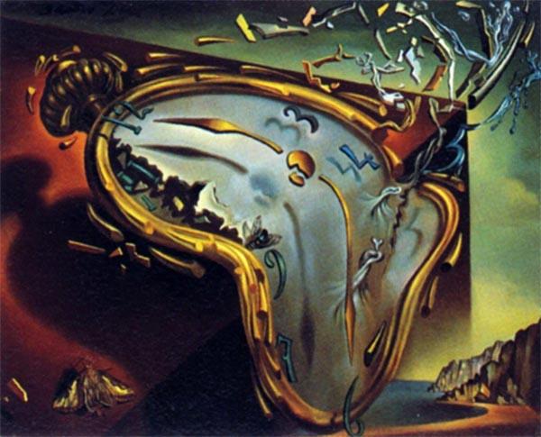 Risultati immagini per quadri della dimensione del tempo