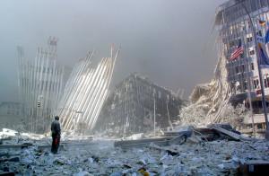 New York, 11 settembre 2001 (AFP file photo)