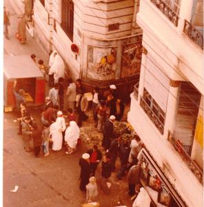 Orano, mercato, 1979 (ph. Parodi)