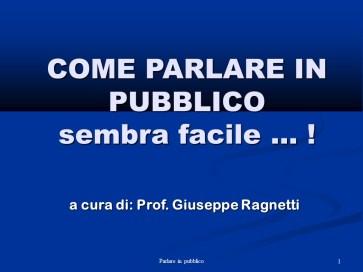 slider Parlare in Pubblico - Istituto Fattorello
