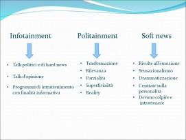 Istituto Fattorello - Spettacolarizzazione e personalizzazione della comunicazione politica 11