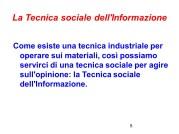 Fattorello - Tecnica Sociale dell'Informazione
