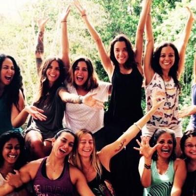 Happy Yoga Retreat Participants