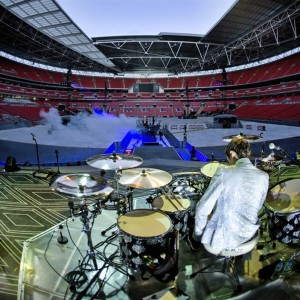 Wembley - stadionul gol inaintea concertului Muse